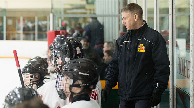 Leaside Flames coach