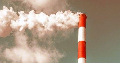 Smokestack causing climate change