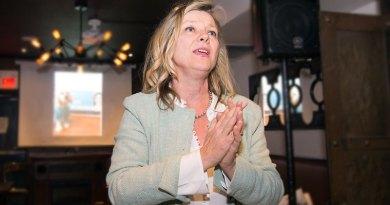 Jaye Robinson on election night