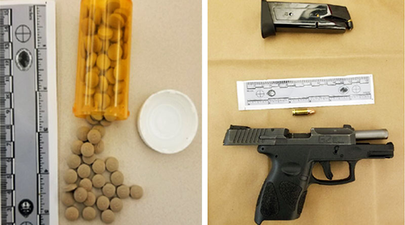 Seized in police bust