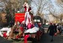 Santa Claus at the Upper Beaches parade.