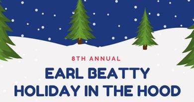 Holiday market at Earl Beatty