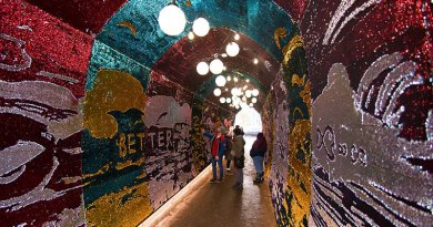 Inside the Tunnel of Glam