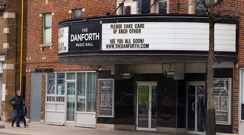Cancellations at Danforth Music Hall