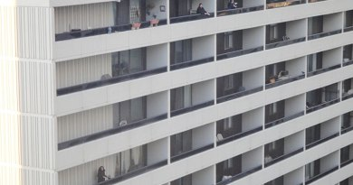 noise-making on balconies