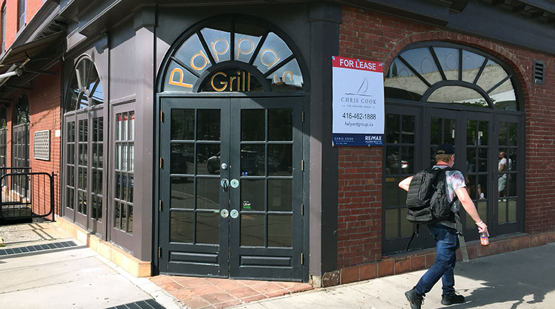 Pappas Grill closed