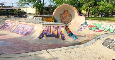 Linton Park skateboarding facility
