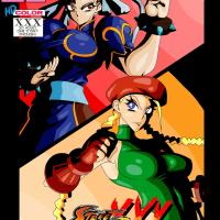 Witchking00 - Street Fighter XXX - Cammy and Chun-Li