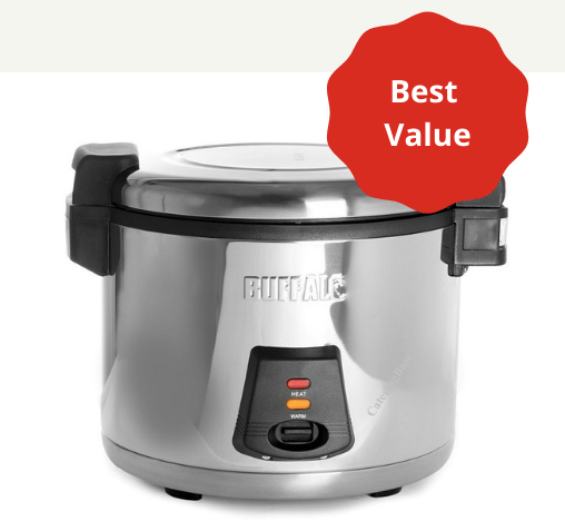 Best Commercial Rice Cooker & Warmers - Buffalo Electric Rice Cooker