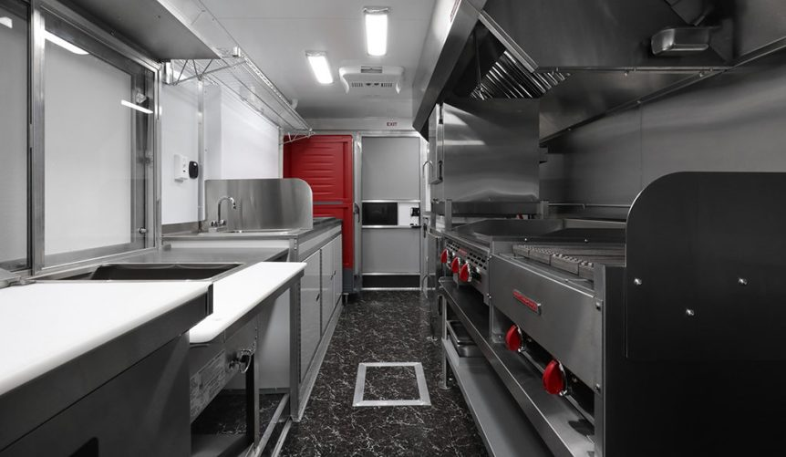what equipment is needed for a food truck?