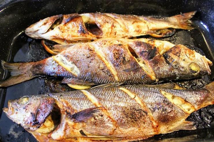 BBQ Food Truck Menu Ideas - bbq sea bass