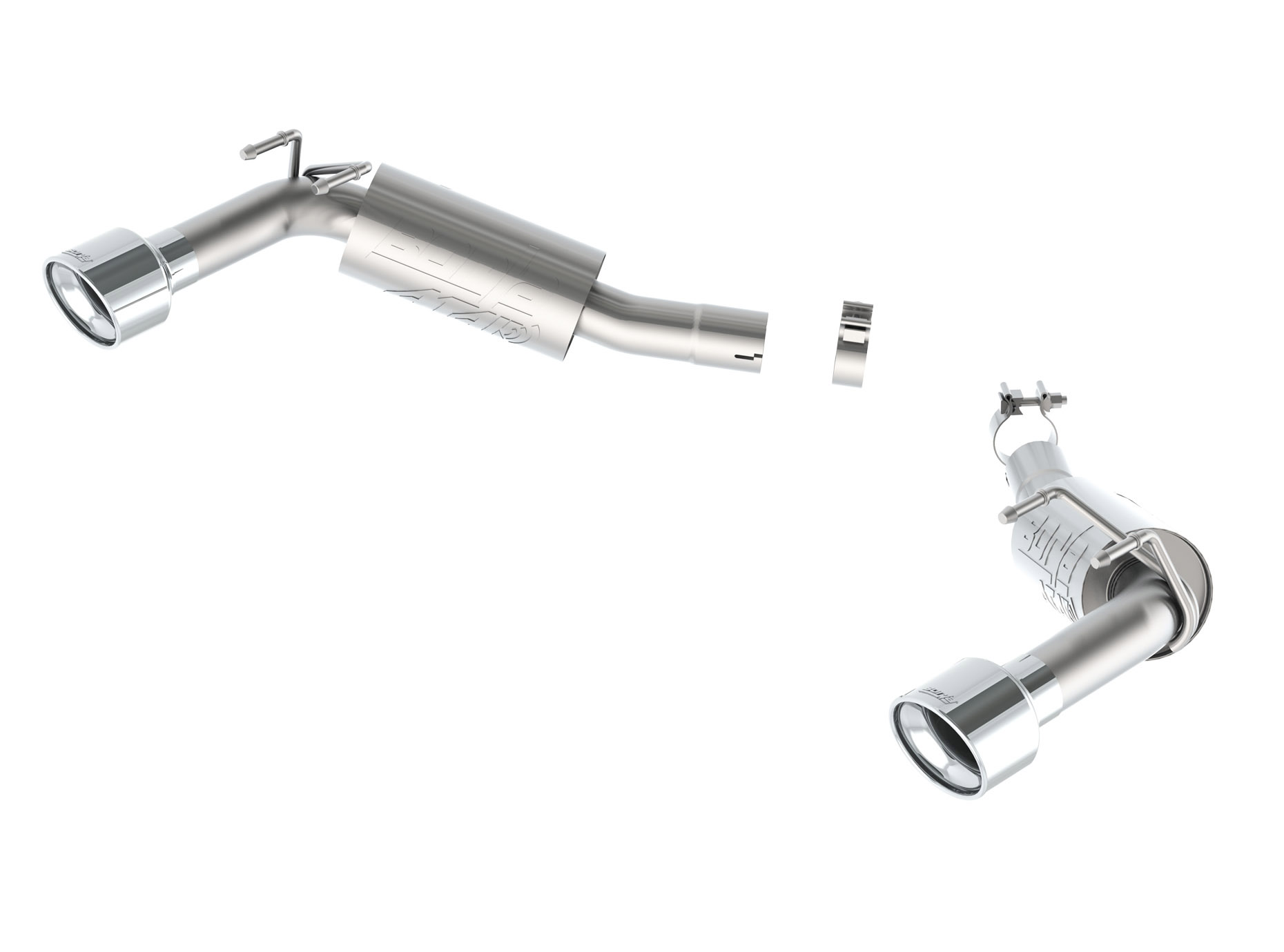 Borla Axle Back Exhaust ATAK for 14-15 Chevy Camaro SS 6