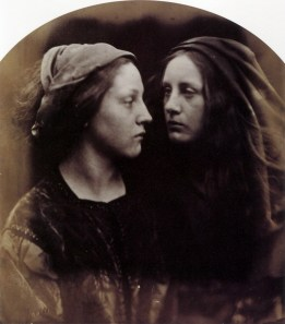 The Dialogue, 1866 - Julia Margaret Cameron