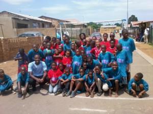 2012 South Africa Soweto Street Handball Roadshow 04