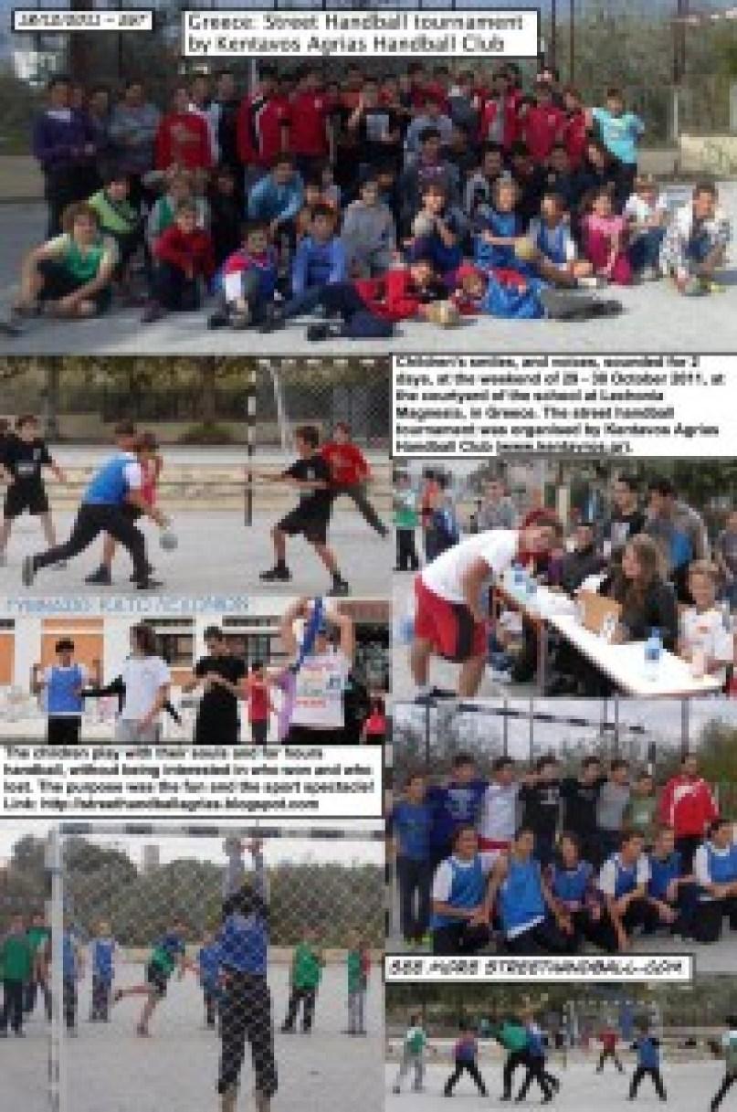 2011 Greece Street Handball Tournament by Kentavos Agrias Handball Club