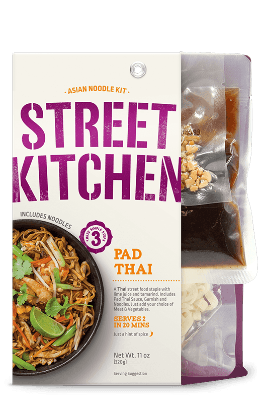 kitchen kits serving tools street scratch kit product from passage foods chinese chow mein noodle pad thai