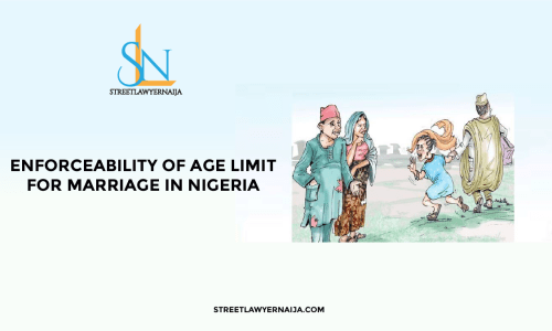 Age limit for marriage