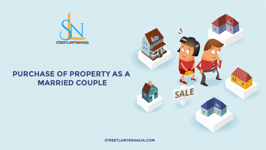 Purchase of Property as a Married Couple