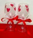 Hearts Champagne