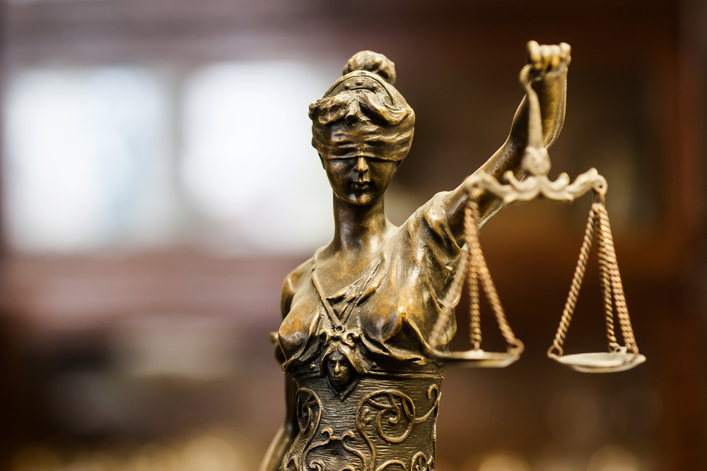 scales of justice legal