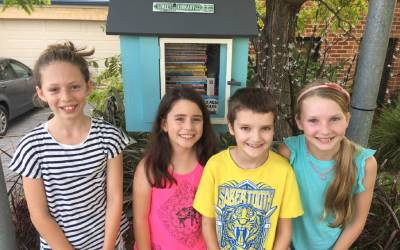 Dapto's Street Library is the smallest in the Illawarra