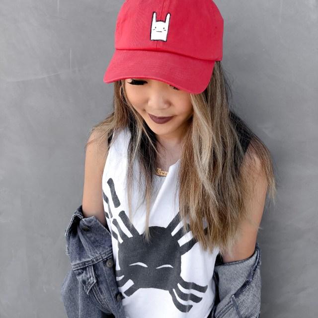 1 bunnie hat by ilani fay