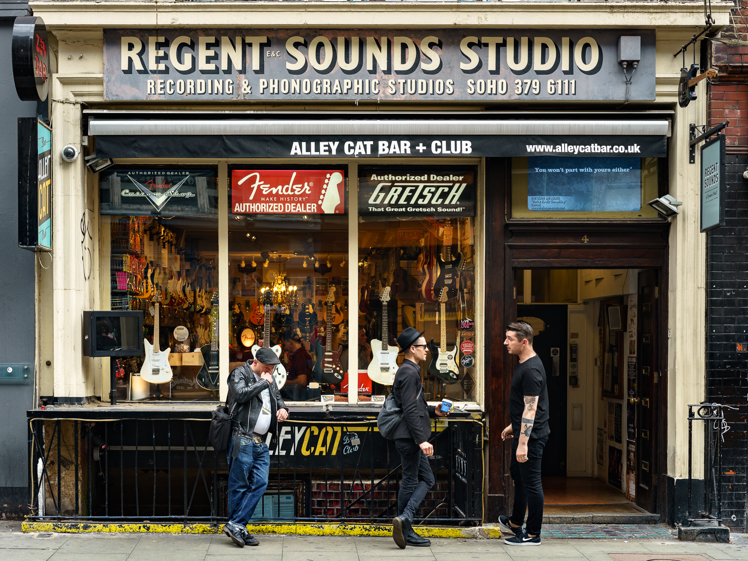 Photo of Regent Sounds guitar shop
