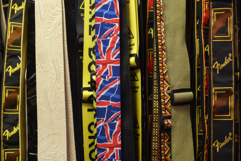 Photo: Guitar straps