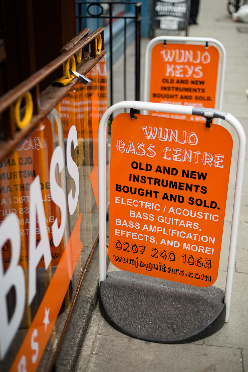 photo of the Bass Centre A Board