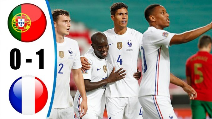 Portugal 0-1 France - All Goals and Highlights (14-11-2020)