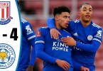 Stoke City 0-4 Leicester City