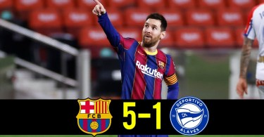 Barcelona vs Alaves 5-1 – Highlights [DOWNLOAD VIDEO]