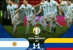Argentina 1 - 1 Colombia (3-2) - Goals Highlights [DOWNLOAD VIDEO]