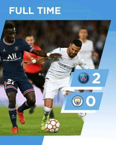 PSG 2-0 Manchester City – Goal Highlights [DOWNLOAD VIDEO]