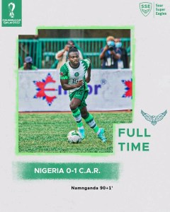 Nigeria 0 -1 Central African Republic - Goal Highlights [DOWNLOAD VIDEO]