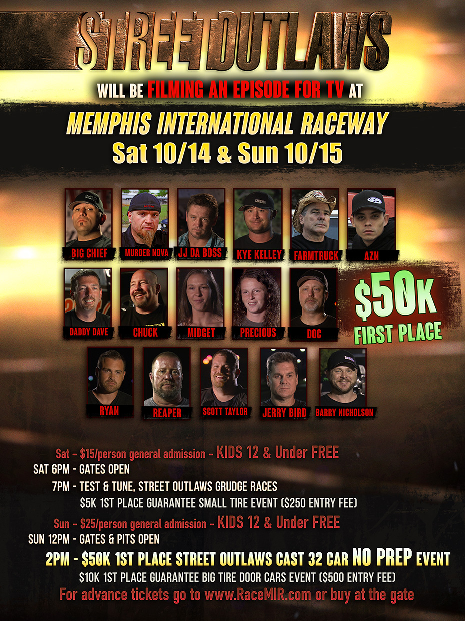 Street Outlaws No Prep - The Latest News