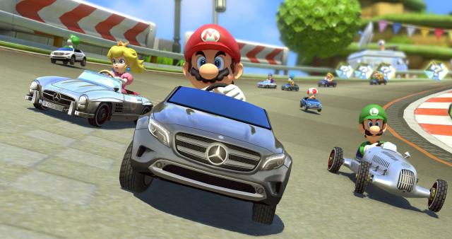 Mercedes-Benz DLC für Mario Kart 8