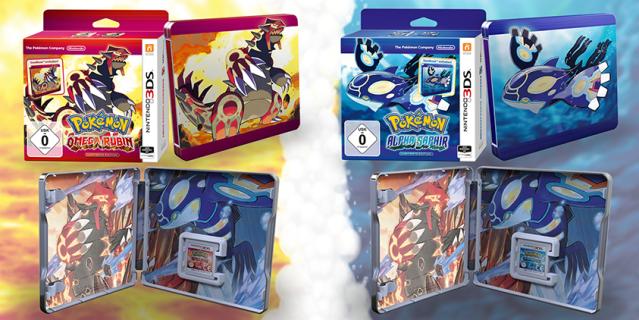 Pokémon ORAS limited SteelBook