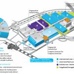 gamescom Hallenplan Grafik