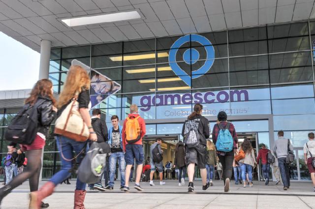 gamescom Eingang