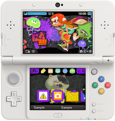 Splatoon 3DS Design