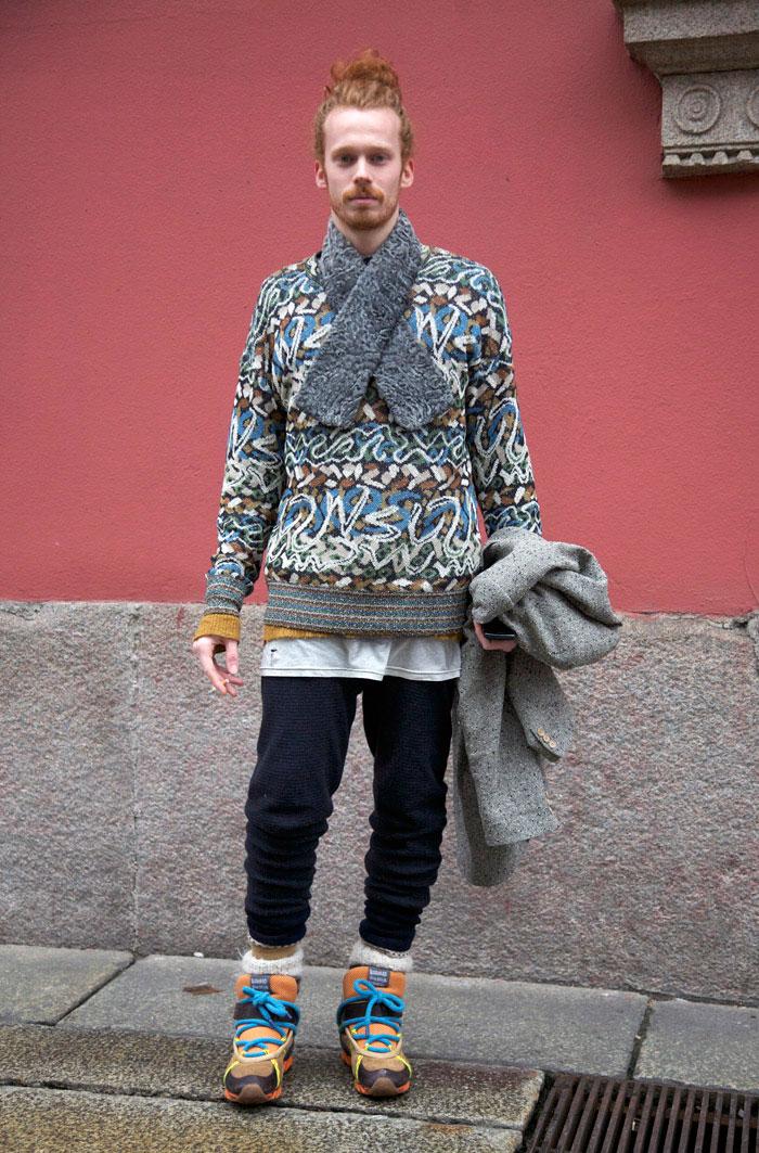 Bernhard Willhelm For Camper Milan Street Fashion
