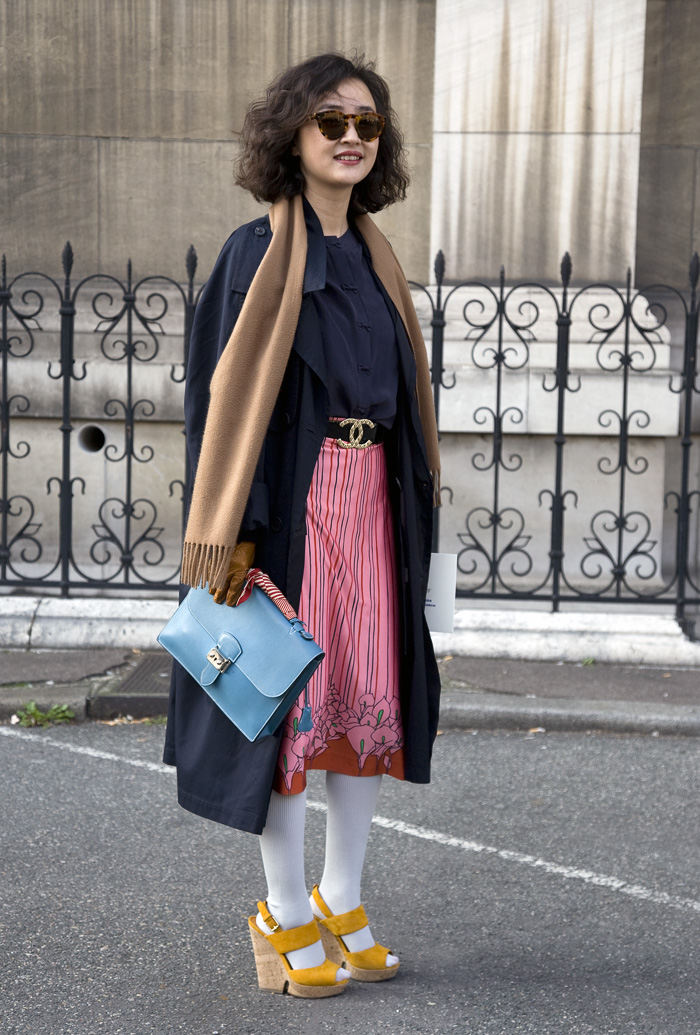 Stephanie Zhuge Elle China Street Fashion Street