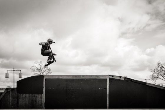 Comment traiter un sujet photo ? L'exemple du Skate Park Colbert de Bordeaux.