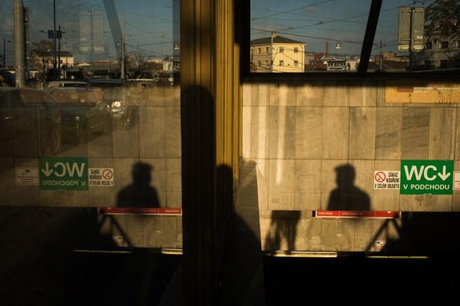 Street Shadows Brno