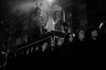 Traslado Humildad y Paciencia   Malaga, Espagne   2015