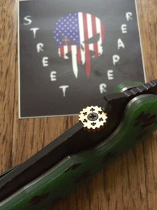 Street Reaper Custom Thumb Disks Knife Gallery 24