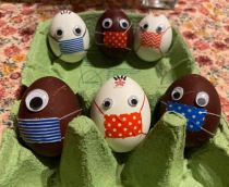 Quarantine Repeat: Protected Easter Eggs