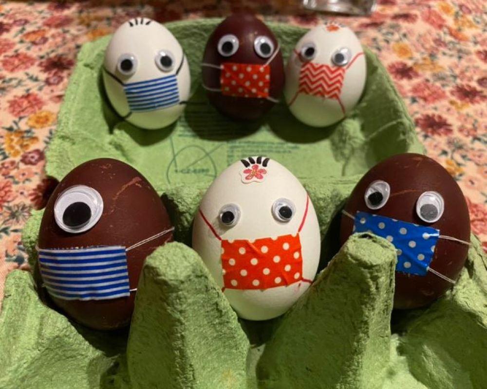 Quarantine Repeat: Protected Easter Eggs