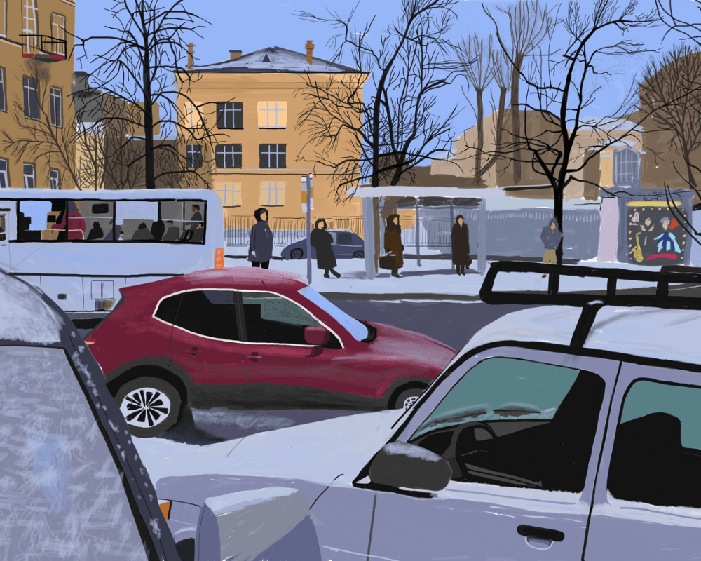 From Street Photography to Street Paintings, New Work by Ilya Shtutsa